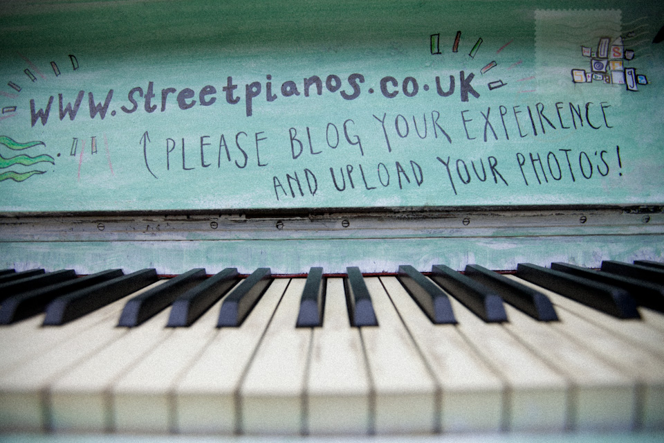 a streetpianos installation, bunhill cemetery, city road, london