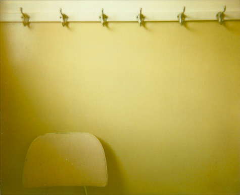 washroom two - polaroid spectra