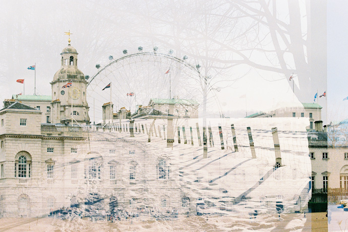 jeanine caron & leonie wise - double exposures