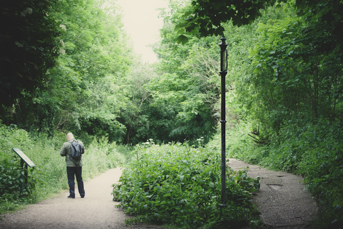 the old crouch end station - parkland walk, north london (c) leonie wise