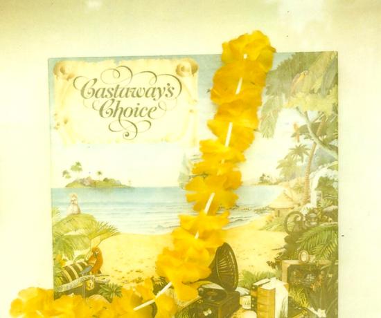 Castaway's Choice - Polaroid SX-70, 779 film. by Leonie Wise