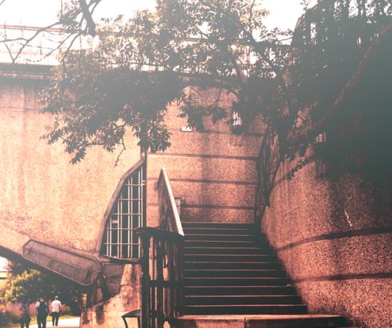 twickenham bridge stairs