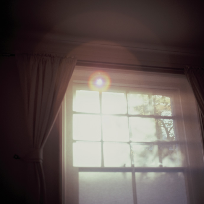 morning light shining through a window (medium format). copyright leonie wise