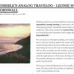 impossible analog travelog