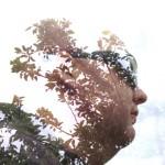 iphone double exposures using blender & vsco