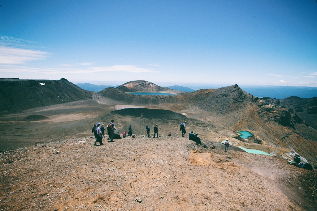 Tongariro Alpine Crossing - photo by Leonie Wise