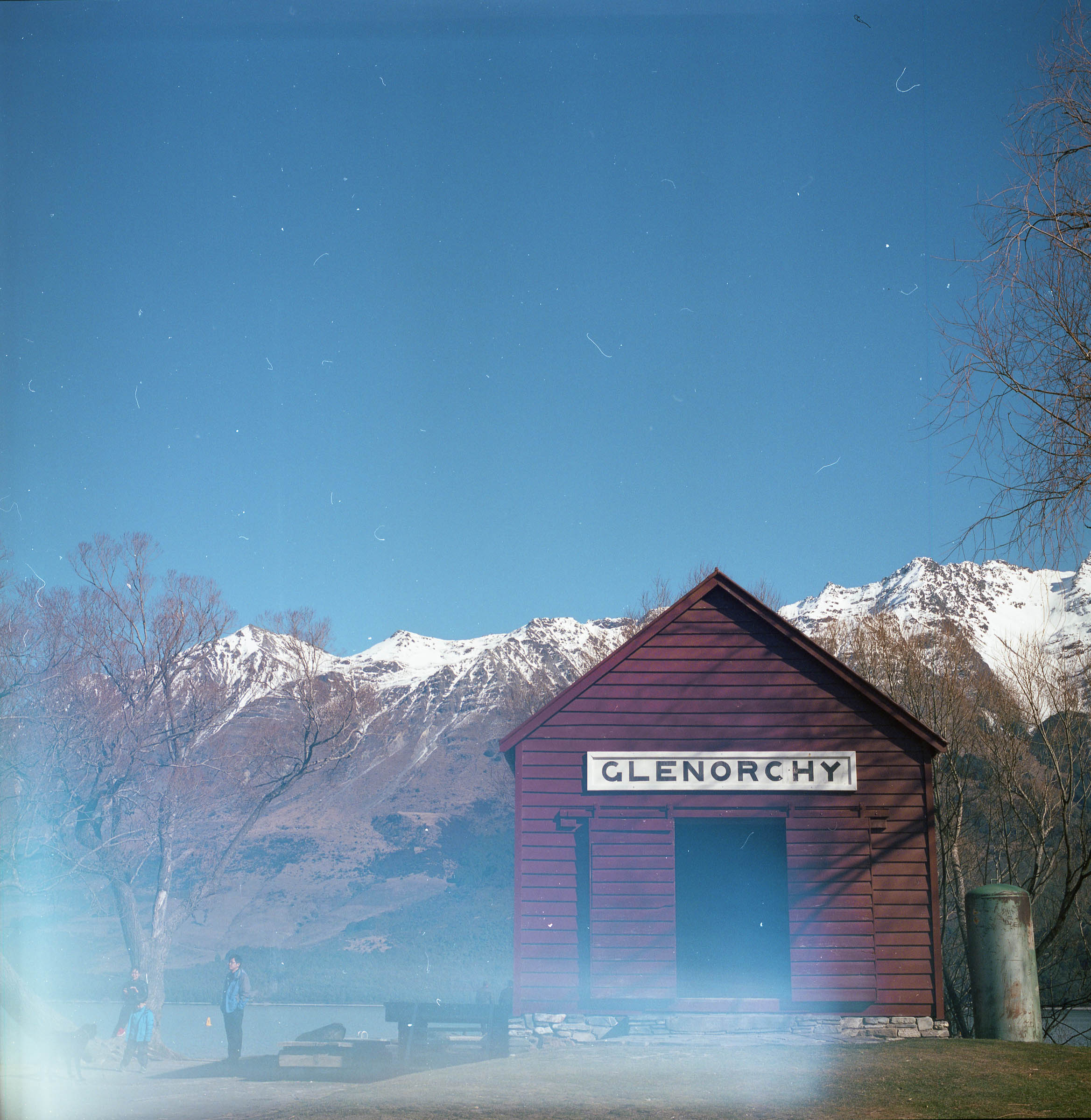 glenorchy boat shed. copyright leonie wise