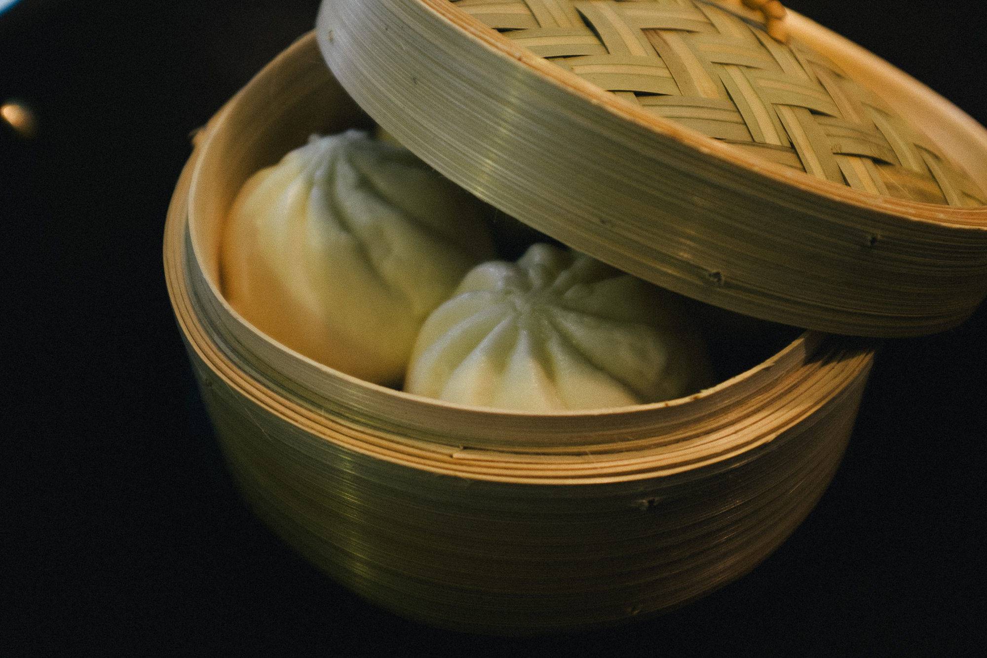 steamed buns. by leonie wise